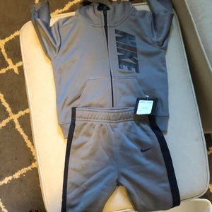 Nike Dri Fit hooded sweatsuit BNWT 12 mos